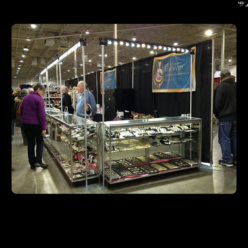 LED Display case lighting for fine jewelry. All aluminum construction made in the USA