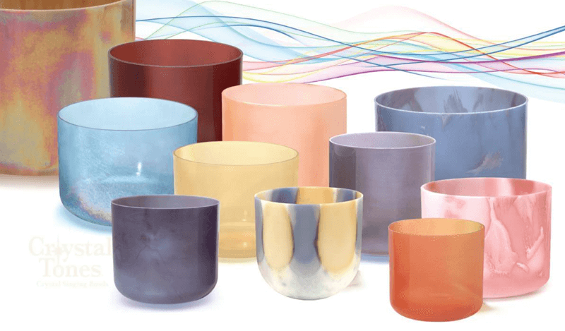 Enjoy our beautiful and diverse sets of crystal singing bowls.
