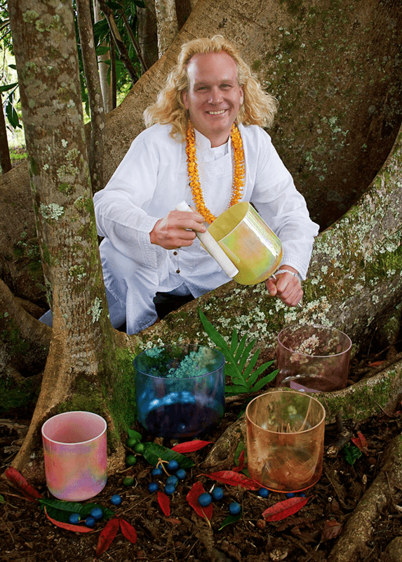 Creator of the original Alchemy Series Crystal Singing Bowls, where the unique qualities and energies of the precious gemstones, metals and minerals are incorporated in the crystalline structure to form a radiant new entity which supports meditation, healing, spiritual growth and connection with our Higher Self.