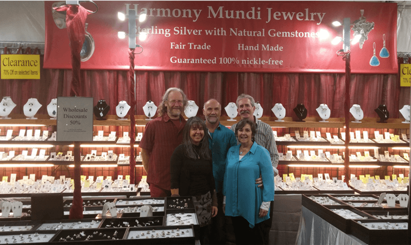 For the 14th year in a row, we are in the Court Pavilion at the Pueblo Gem & Mineral Show.
