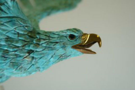 Turquoise Eagle Carving