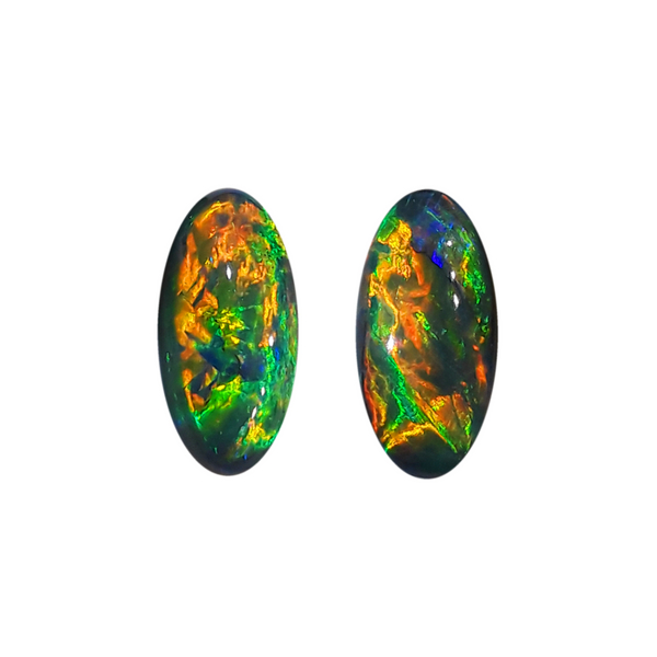 Black Opal Matched Pair