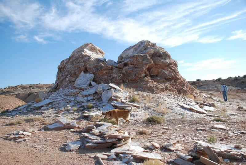 Mussentuchit Selenite Mine
